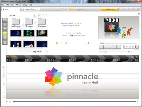 Phần mềm Pinnacle VideoSpin